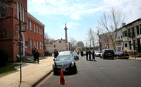 Gunfire erupts during  funeral at the Galilee Baptist Church in Trenton 4/22/2014