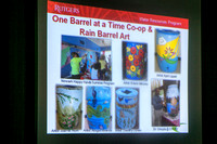 Rain barrel workshop in Hamilton
