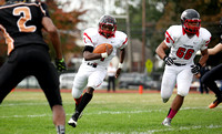 Football: Trenton Central at Hamilton West 10/18/2014