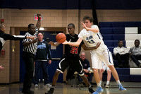 High School Sports - Trenton Central High School at Notre Dame boys basketball