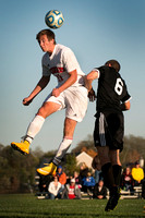 High School boys soccer Mercer County Tournament quarterfinal HoVal at Allentown 2014-10-27