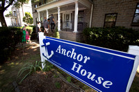 Trenton Thunder players visit Anchor House in Trenton