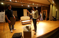 "Rehearsal for ""Roebling, The Story of The Brooklyn Bridge"""