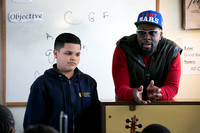 Wyclef Jean visits Foundation Academy Charter School