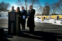 Officials hold press conference on AvalonBay housing project in Princeton