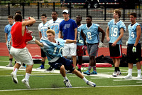 7-on-7s Football at Notre Dame 7/9/2014