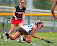 High School Girls Lacrosse, Allentown at West Windsor-Plainsboro North 4/7/2015