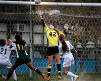 High School  girls soccer West Windsor South at Steinert 2014-10-09