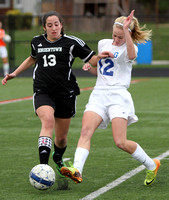 GIRLS SOCCER: Bordentown at Ewing