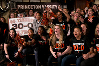 Princeton University women's basketball team watches NCAA selection