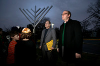 Community Menorah Lighting at Adath Israel Congregation in Lawrence