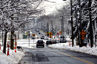 Roundabout at University Place and Alexander Street opens in Princeton 2/4/2014