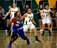 MCT HOOPS: Girls Ewing vs Hopewell Valley 2/26/2014