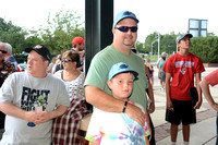 Trenton Thunder Fan Photos from Times Square 7/11/2015