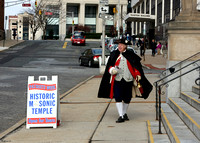 Fife and Drum concert at Masonic Temple 12/27/2013