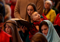 Christmas Eve children's liturgy at the Church of St. Gregory the Great in Hamilton Square